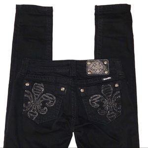 Black Miss Me Jeans.